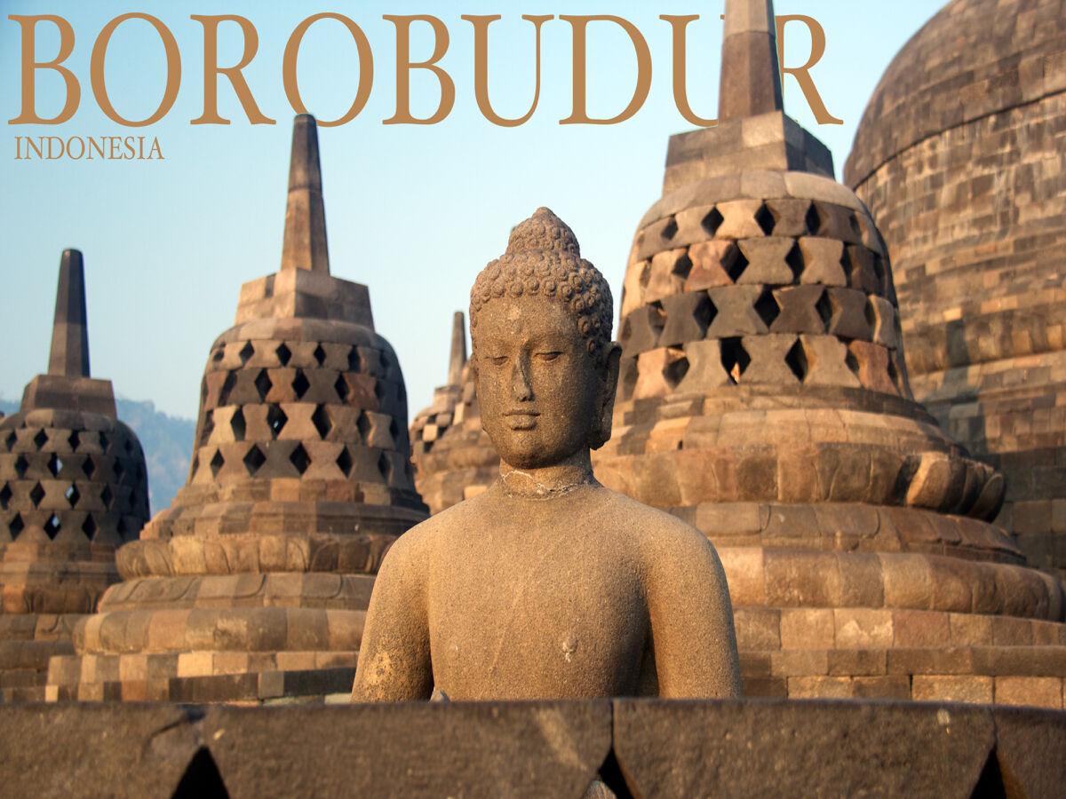 16x20  CANVAS Decor.Room art print.Travel shop.BGoldbudur Indonesia.6031