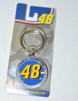 Jimmy Johnson Number 48 Key Ring Chain 7-time Champion Nascar Cool Racing Gift