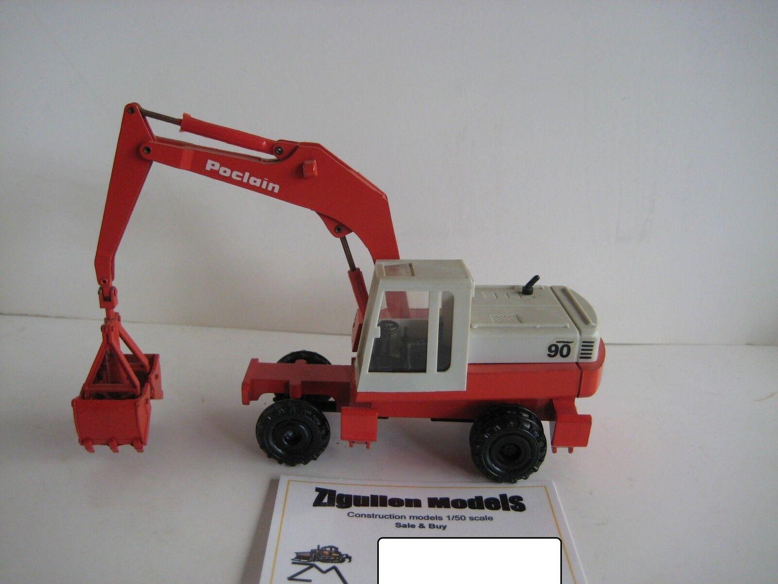 POCLAIN 90 P Excavateurs Pince Mobile  2896.1 CONRAD 1 50