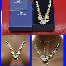 "$300 SWAROVSKI Ladies  ""ROYAL JEWELS""  CRYSTAL NECKLACE  w/ Price & Certificate"