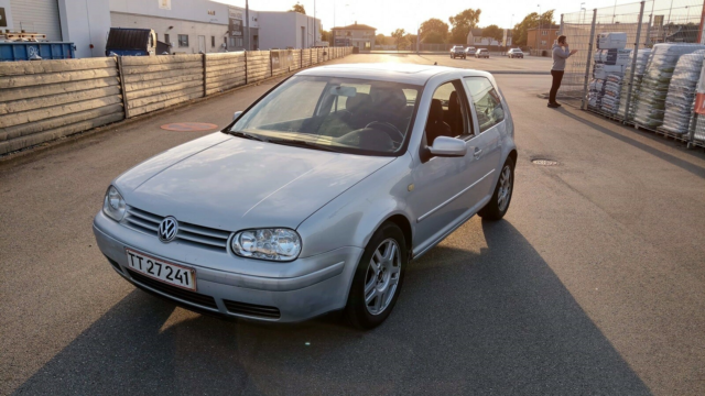 VW Golf IV, 1,8 GTi Turbo, Benzin, 1999, km 289000, grå,…