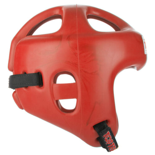 Top Ten FIGHT Headguard Olympia Red Kickboxing Head Guard Boxing Open Face Adult
