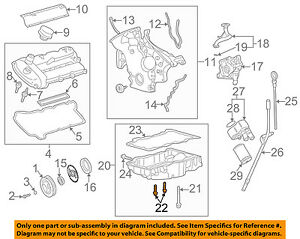 jaguar x type engine diagram jaguar oem 02 08 x type 3 0l v6 engine oil pan mount bolt c2s20877  oem 02 08 x type 3 0l v6 engine oil pan