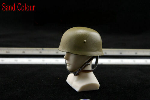 1:6 Scale Soldiers Accessories WWII German Paratroopers Helmet Leather Lining