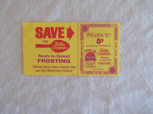 Rare-Vintage-1970-Betty-Crocker-Ready-To-Spread-Frosting-5-Cent-Coupon-Ad