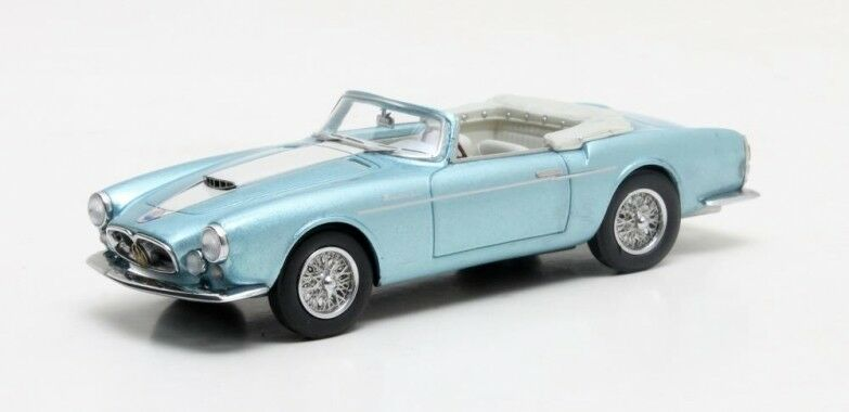 Matrix MAXLM02-1311 - Maserati A6 G 2000 Frua cabriolet blu métallisé 1956 1 43