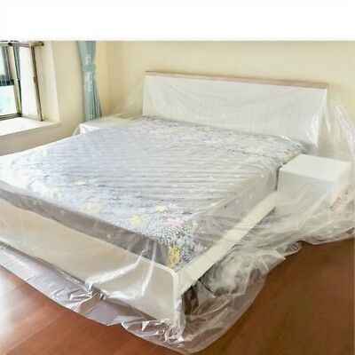 Dust Cover Plastic Cloth Sofa Bed