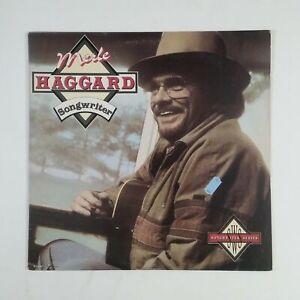 MERLE HAGGARD Songwriter MCA5698 LP Vinyl VG+ nr++ Cover VG+ nr ++ Sleeve 1986
