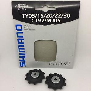 Shimano-Schaltrollensatz-6-7-8-fach-Pulley-Set-10-Z-Schaltungsraedchen-Roellchen