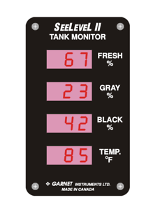 See-Level-II-Tank-Monitor-713-New-in-Sealed-Box-Garnet-Instruments-RV-Motorcoach