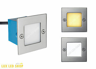LED Stair Lamp LED Wall Light Fixture Janus 1,5 Watt IP54 3.000/6.500 Kelvin