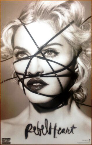 MADONNA Rebel Heart 2015 Ltd Ed RARE BIG New Poster +FREE Pop/Dance Poster!