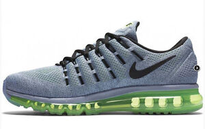 check out 73f72 9600e Image is loading New-Mens-7-NIKE-Air-Max-2016-Grey-