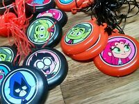 12 Teen Titans Go Necklaces, Birthday Party Favors, Treat Bag Loot, Prizes