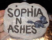 Custom Pet Cage Name Signs - Chinchilla, Rabbit, Gunea Pig, Rat Memorial