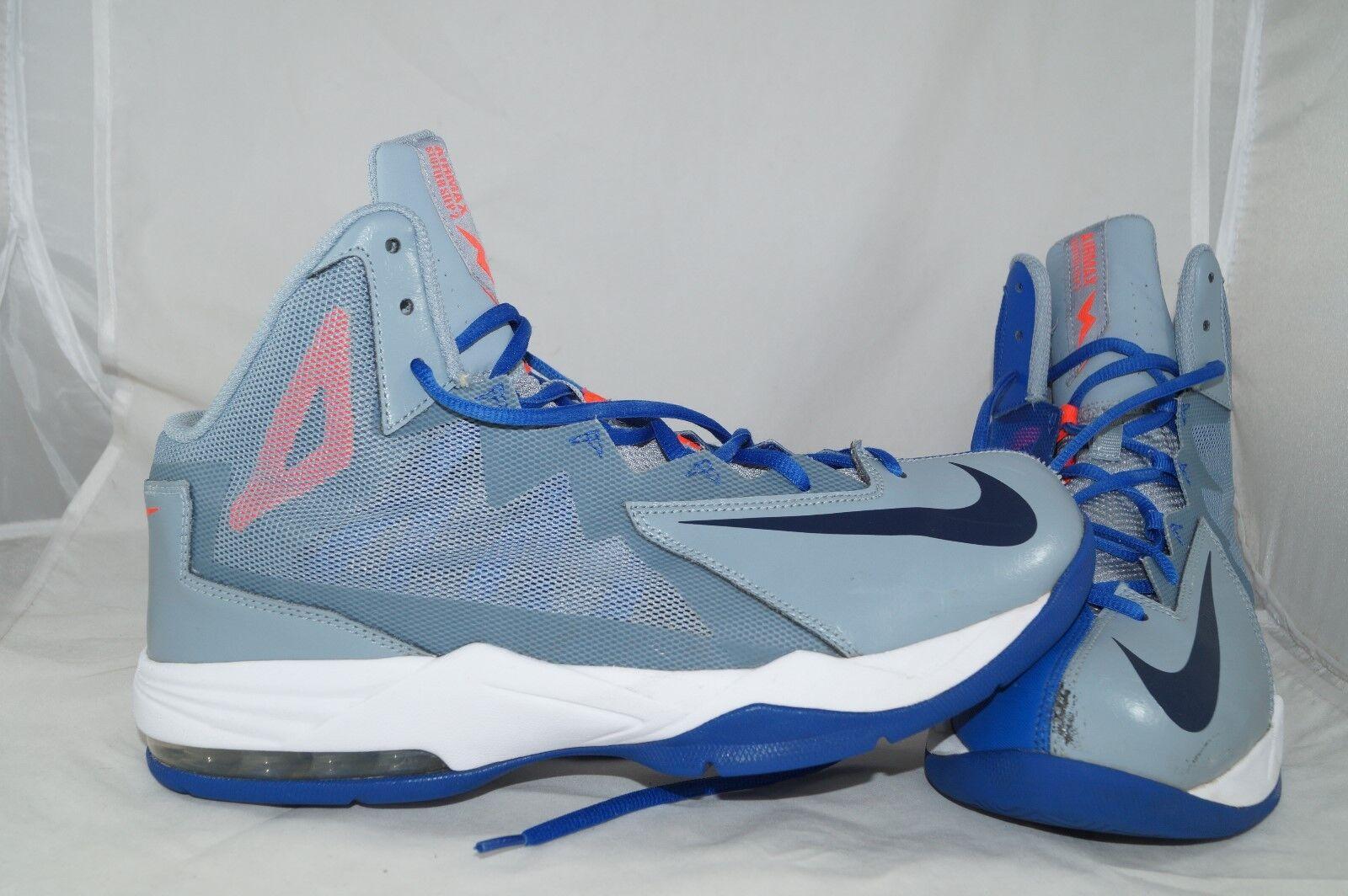 Nike Air Max Stutter Step 2 Gr: 44 Basketballschuhe Mid High Tops
