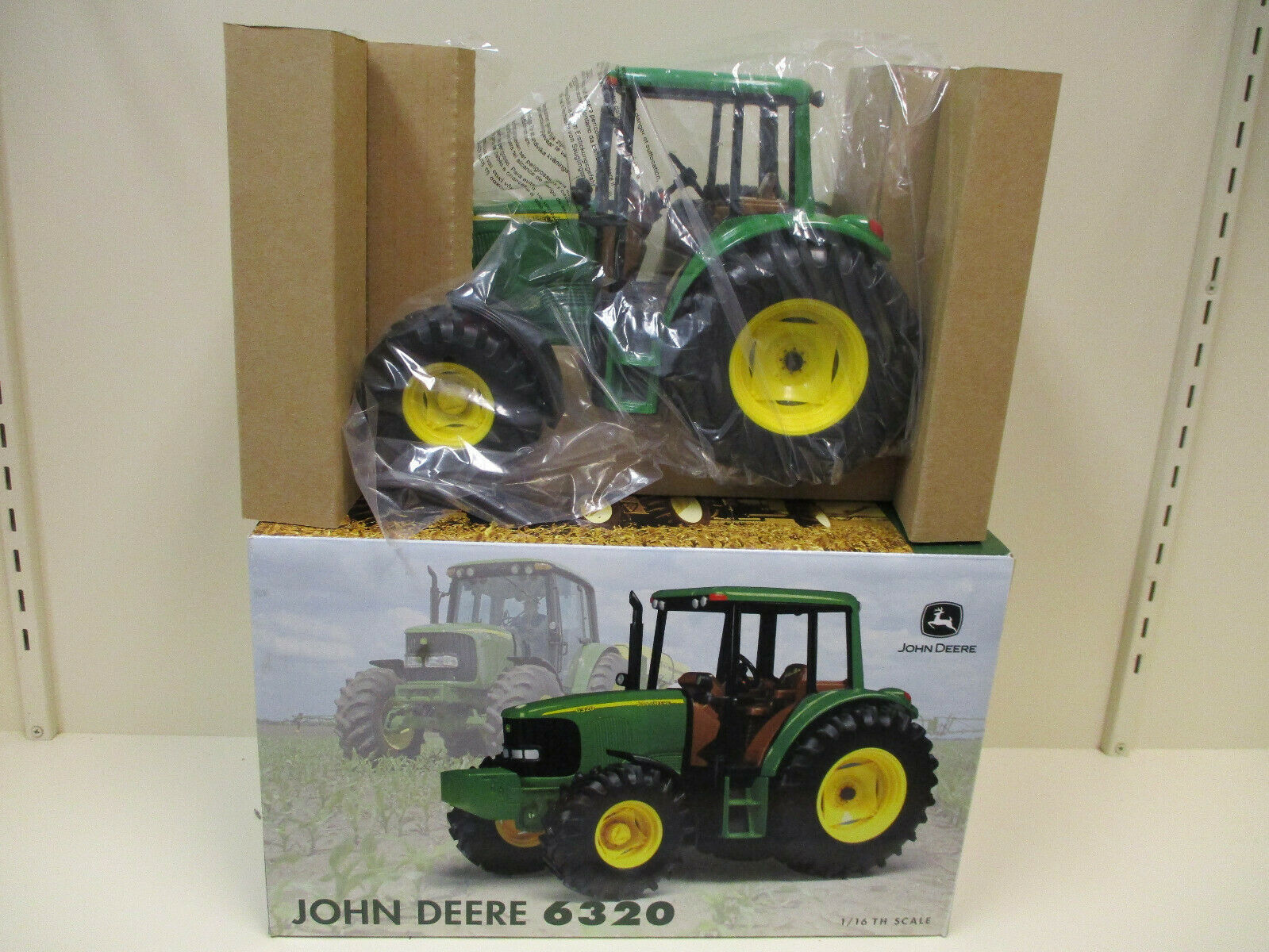 John Deere 6320 2002 Farm Show by Ertl 1 16th Scale