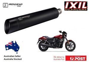 Details about Harley Davidson Street ROD 750 XG750 IXIL IRONHEAD S/O BLACK  Exhaust STD Length