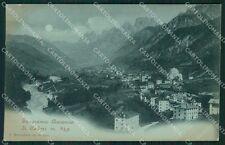 Belluno Auronzo di Cadore Chiaro di Luna cartolina XB1161