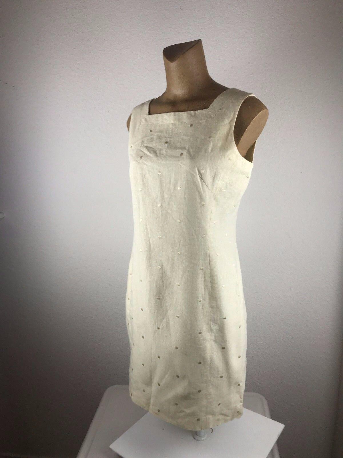 Don Algodon Womens Tan Dress Size 42