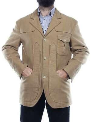 Dettagli su CAPALBIO GIACCA MAREMMANA 45709 NOCCIOLA giacca invernale uomo