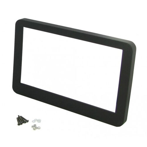 CT24AR19 ALFA ROMEO BRERA 2005 to 2010 BLACK DOUBLE DIN FASCIA FRAME ONLY