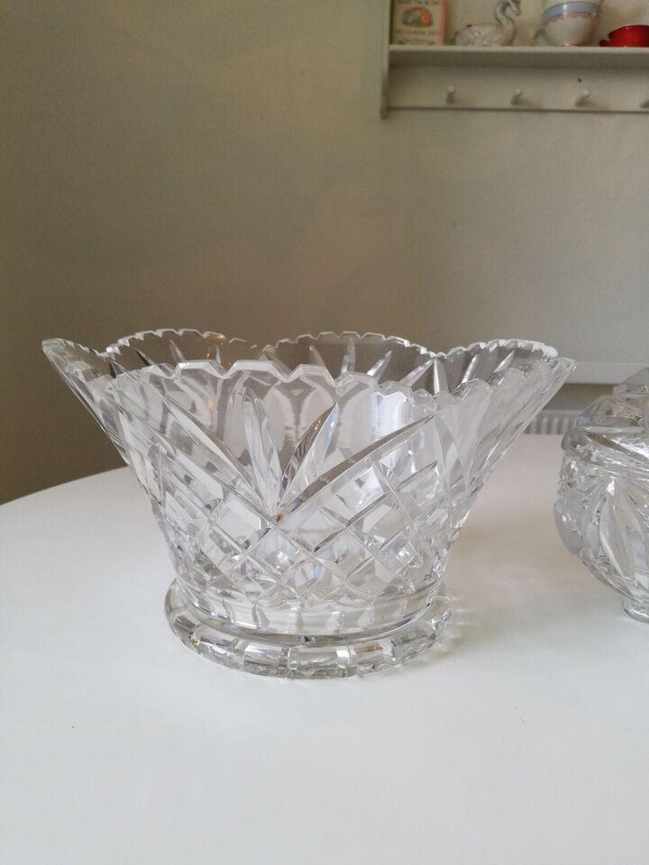 Glas, Kartoffelskåle i krystal