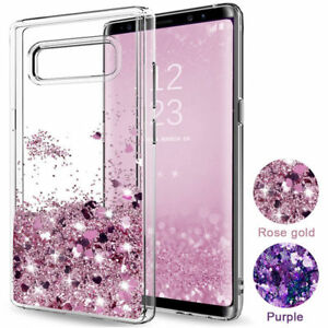 huge discount edaae cab92 Shockproof Bling Liquid Glitter Case Cover For Samsung Galaxy S10 ...
