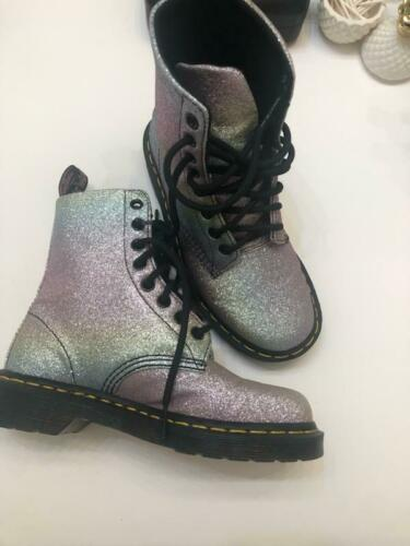 Doc Martens Pascal Glitter Boots SIZE 5 US