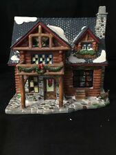 Heartland Valley Village Christmas Village DELUXE PORCELAIN LIGHTED HOUSE