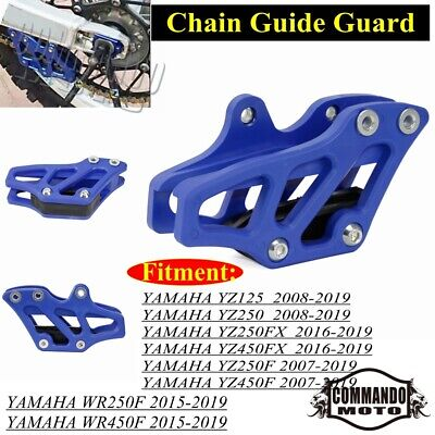 BLUE CHAIN GUARD GUIDE PIT DIRT BIKE Chinese Clones Coolster Tao Tao M CG02