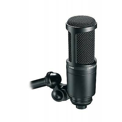 Audio Technica AT2020 - Studio Cardioid Large Diaphragm - Condenser Microphone