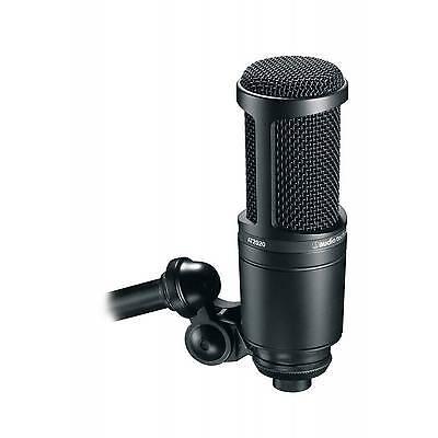 Audio Technica AT2020 - Studio Cardioid Large Diaphragm - Condenser Microphone