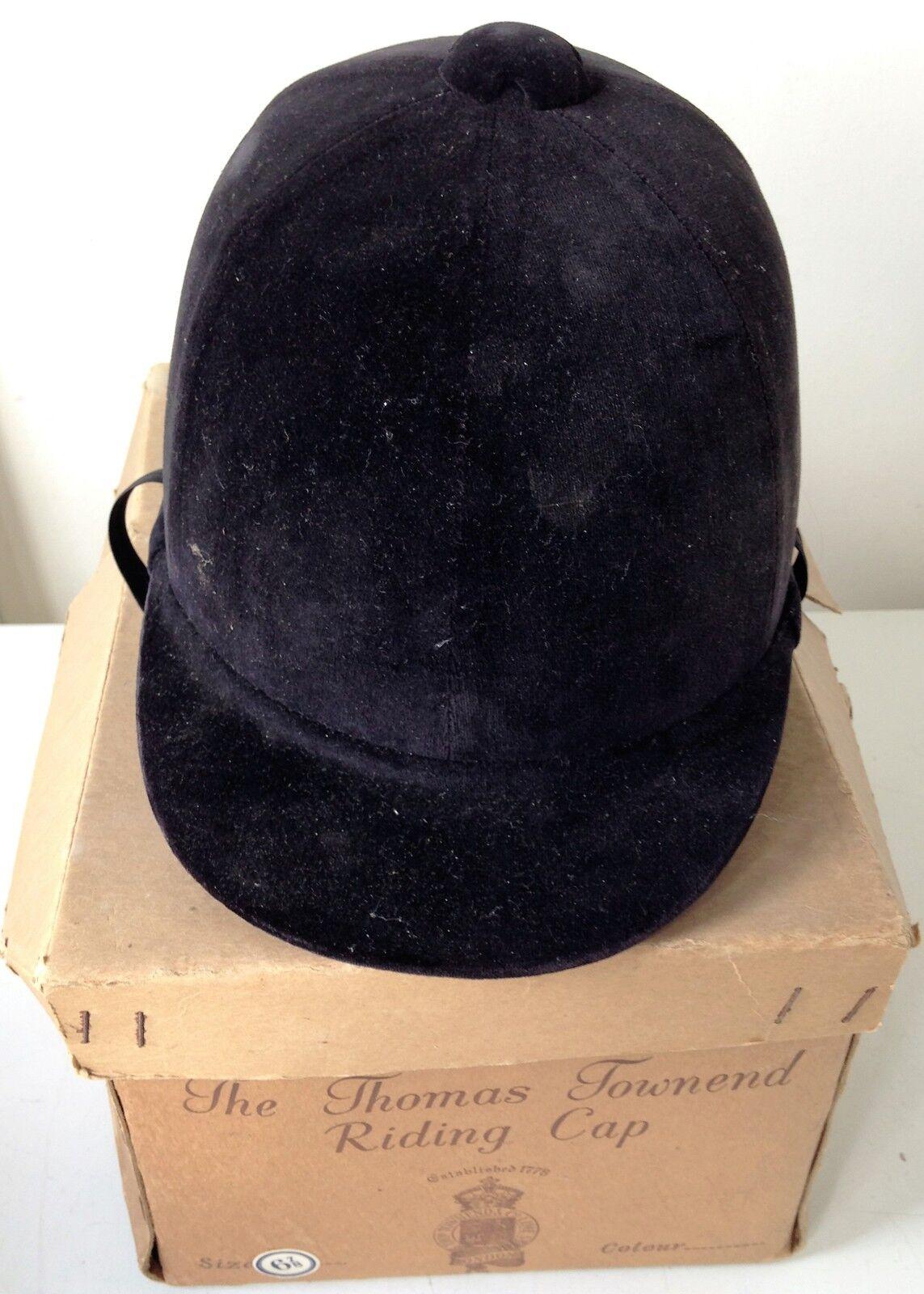 VINTAGE Thomas TOWNEND Hunt PAC  in ottime condizione INDOSSABILE 55cm CON BOX