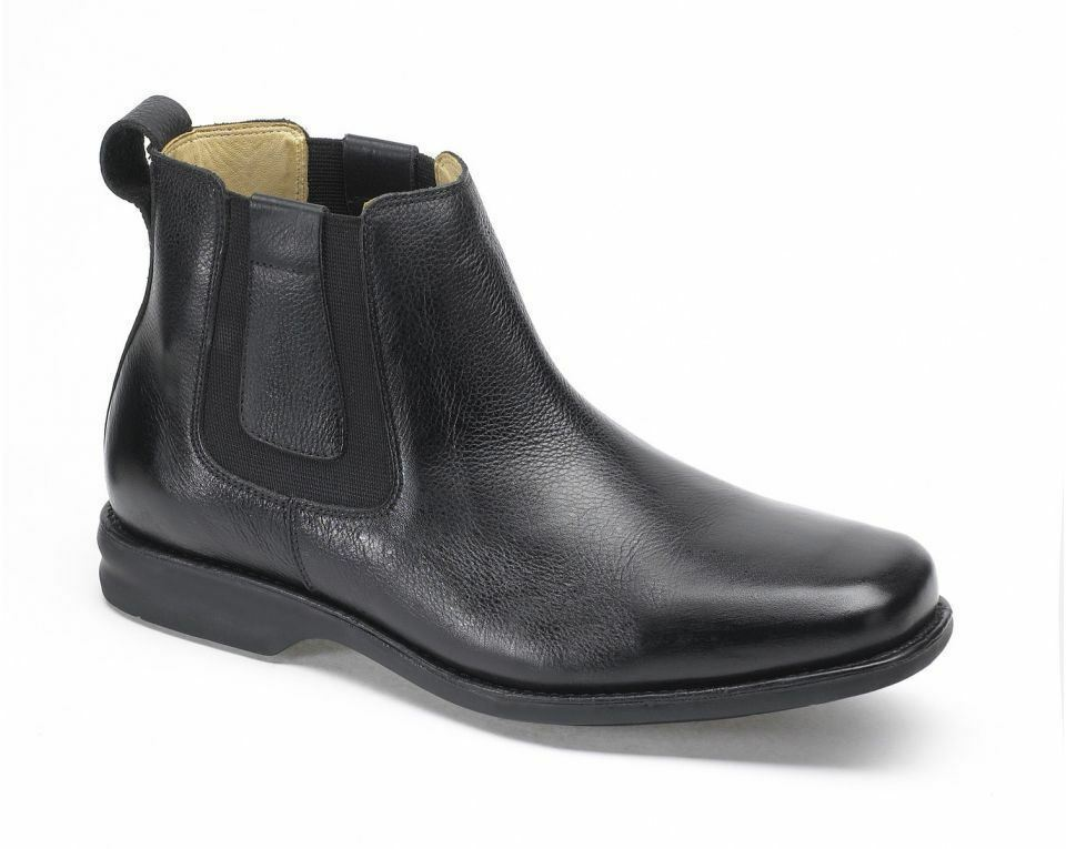 Anatomic & Co Amazonas Chelsea Boot Black Soft Leather wide Fitting rrp £139.95