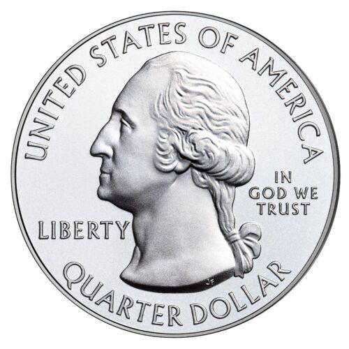 A 2009 P/&D Guam Quarter BU 20P//20D US Coin Roll 40 Coins Total