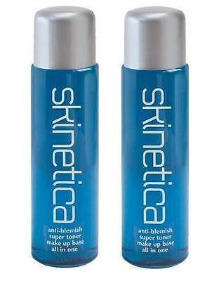 2 x Skinetica Anti Blemish Super Toner Acne Treatment  70ml