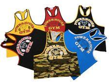 Powerhouse Gym Ringer Tank Top- New