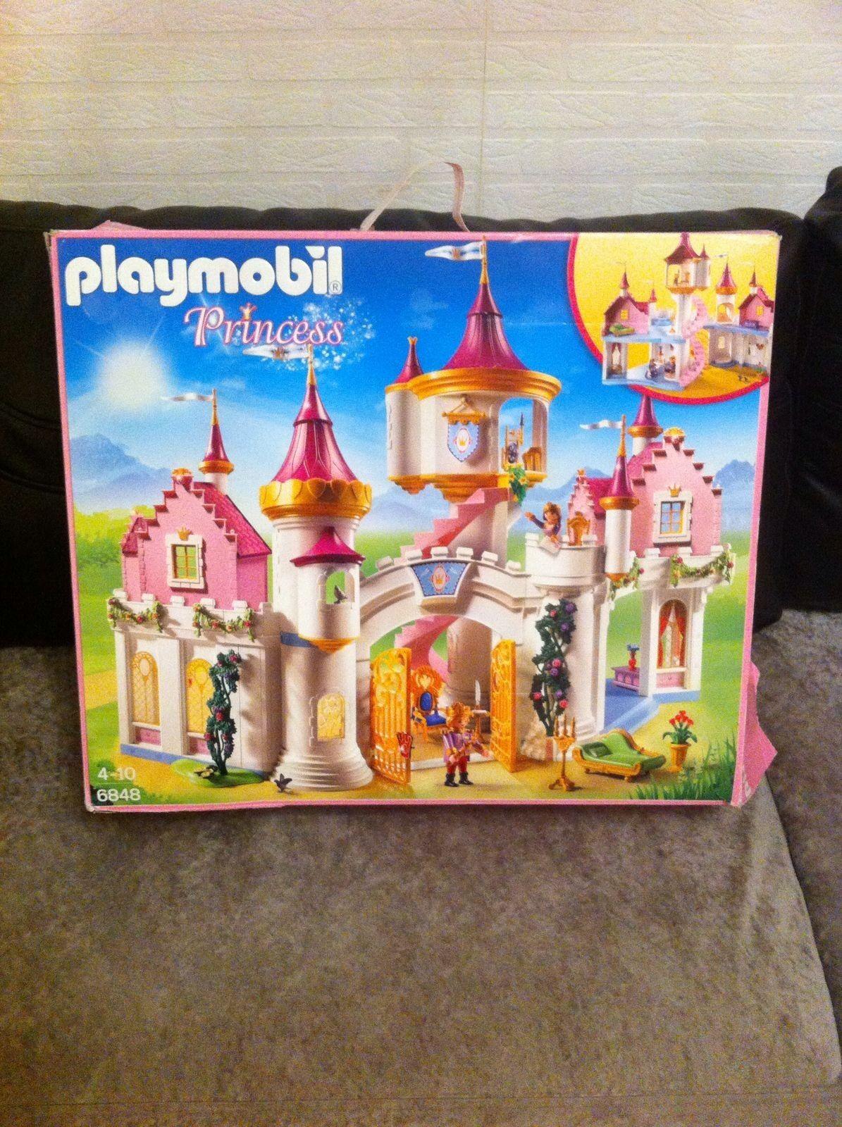 PLAYMOBIL PRINCESS   PRINZESSINNE SCHLOß 6848