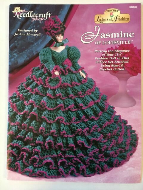 Crochet Doll Clothes & Shoes - Doll Dress Pattern Collection ... | 640x480