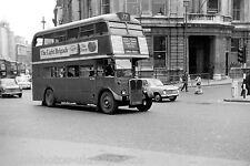 London Transport RT 77c Charing Cross 6x4 Bus Photo A