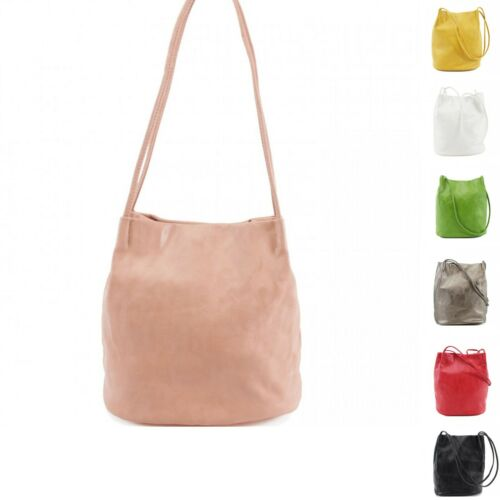 Woman Lady Synthetic Leather Medium Casual Design Boutique Neat Shoulder Bag