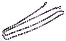 2 (Two) Purple Metal Eyeglass Sunglass Chains Lanyards Holders