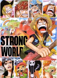 POSTER ONE PIECE STRONG WORLD THE MOVIE RUFY ZORO BROOK ACE WANTED MANGA ANIME 3