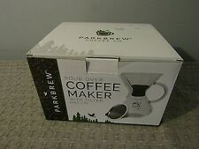 Parkbrew Pour Over Coffee Maker Set Includes Glass Pourover Carafe New In Box