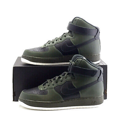 Nike Air Force 1 High Sneaker Leder NIKEiD af1 UK Size 10.5 (EU 45.5) oliv | eBay
