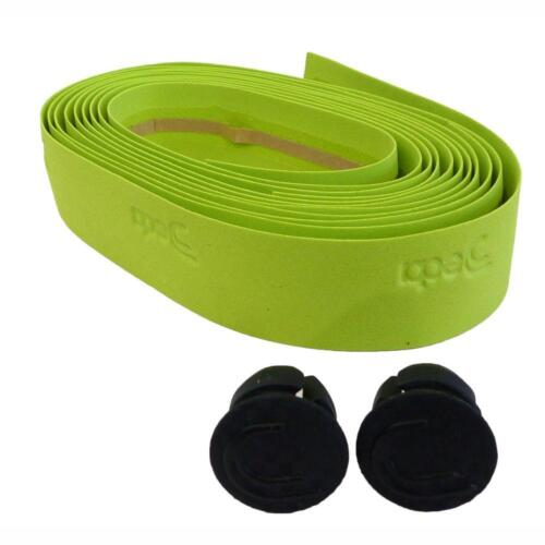 Green DEDA Apple Green road bike padded handlebar cycle tape Mela Verde