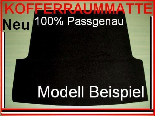 "Neue Kofferraummatte für OPEL CORSA A auch GSI /""Nr.94/"""
