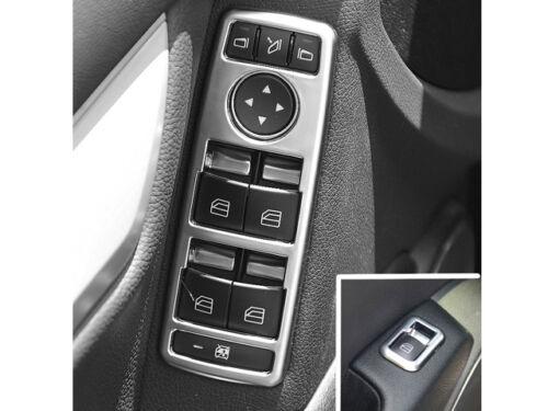 Mercedes W212 E Class W204 C Class W207 E Class Aluminium Switch Surrounds