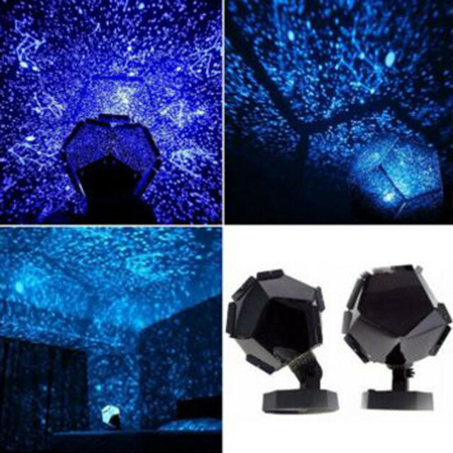Celestial Star Cosmos Lamp Night Lights Constellation Starry Sky Projector G0